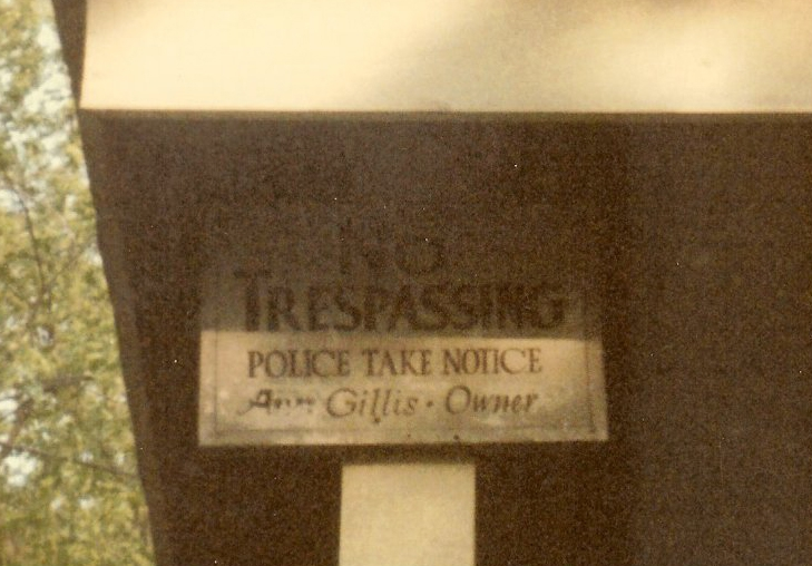 103-the-no-trespassing-sign-posted-on-the-house